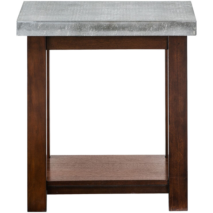 Cascadian Chairside Table