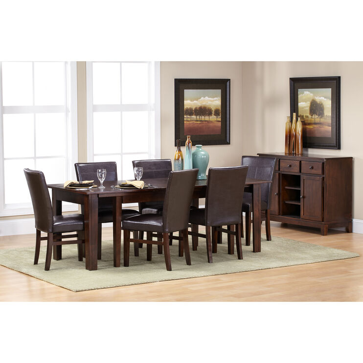 Slumberland Furniture Kona 7 Pc Parsons Dining Set