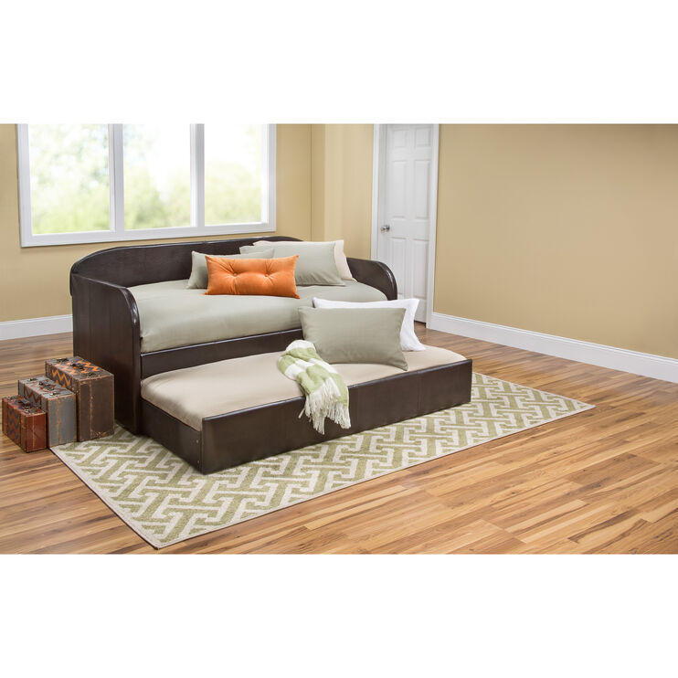 Megan Brown Daybed with Trundle