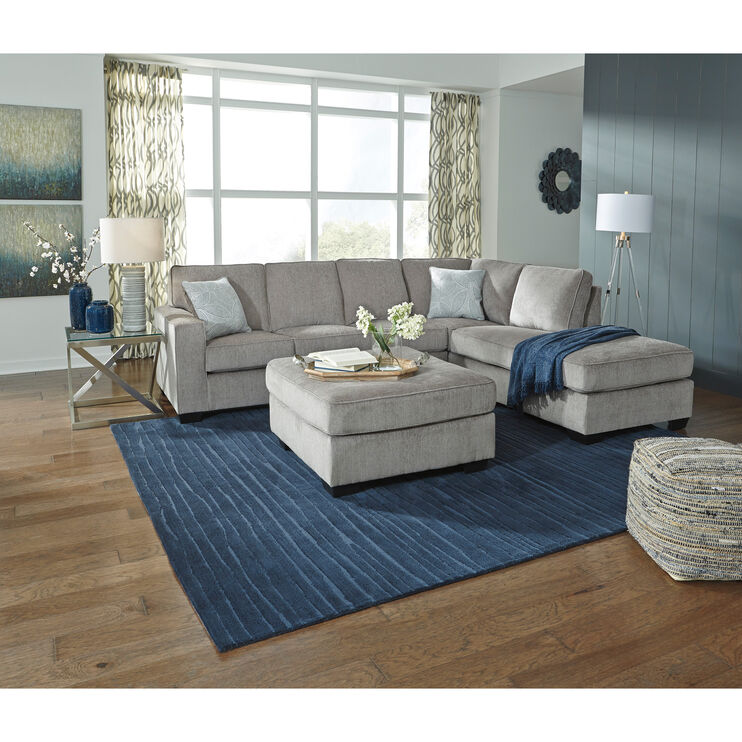 Riles Alloy Right Chaise Sectional