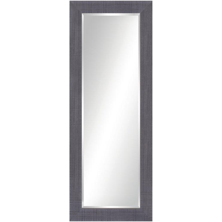 Mirror Rustic Gray Rectangular