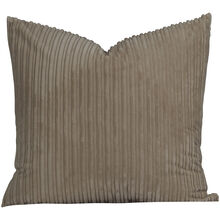 Downy Taupe Euro Pillow