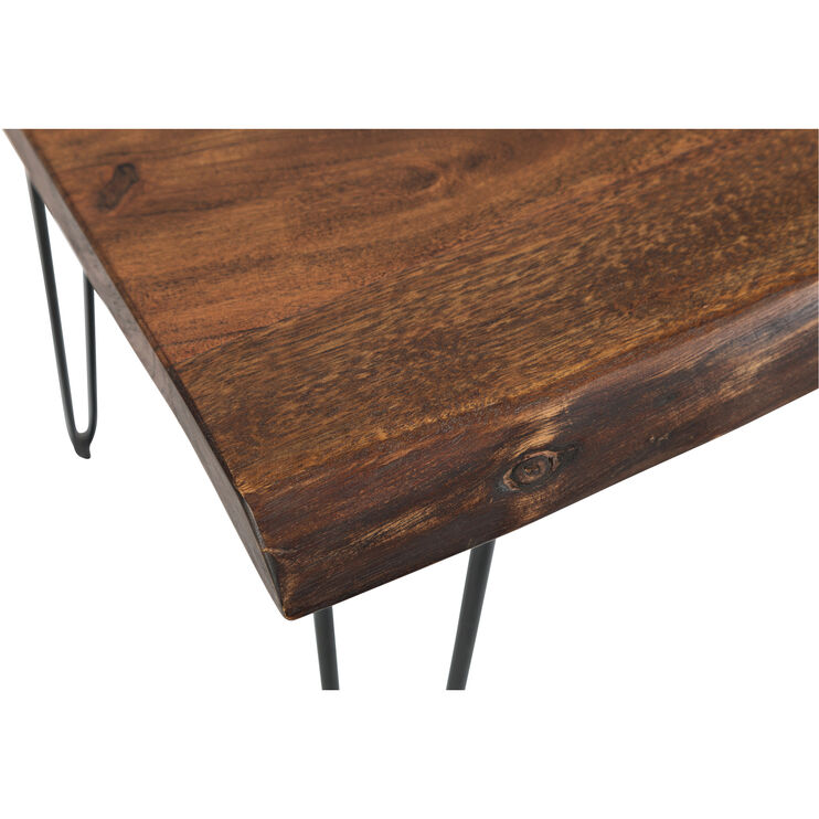 Natures Edge Brown Accent Table