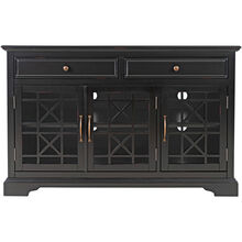 Chilton Antique Black 50 Inch Console