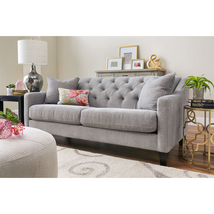 Solo Silver Sofa