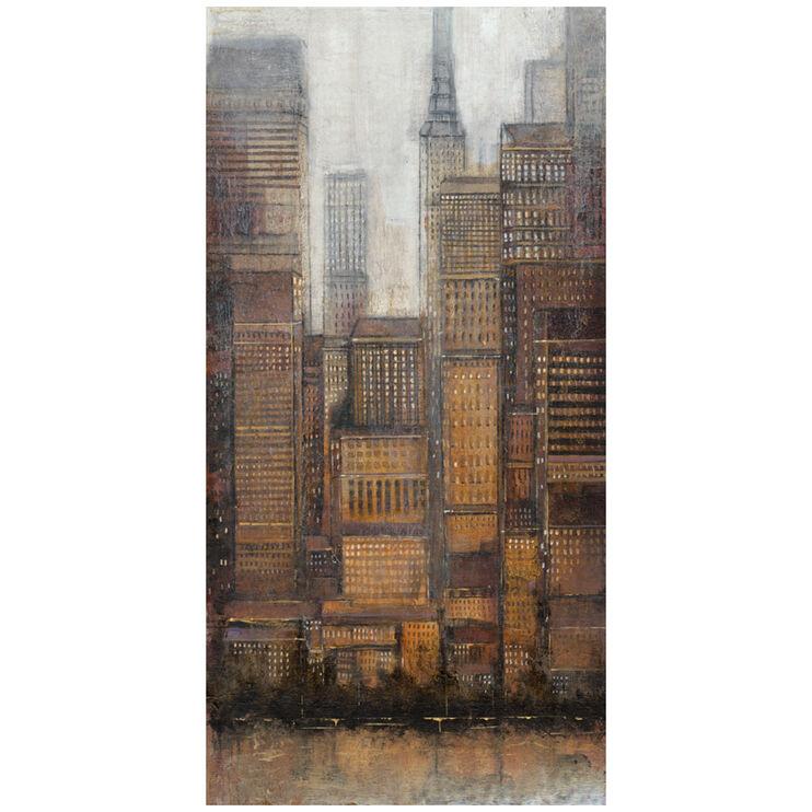 Uptown City I Canvas Art