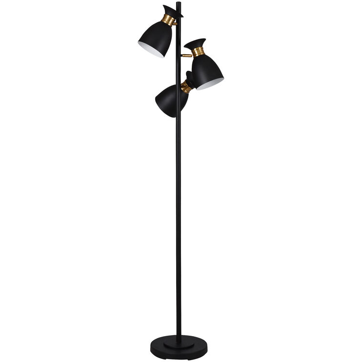 Arvin Gold Floor Lamp