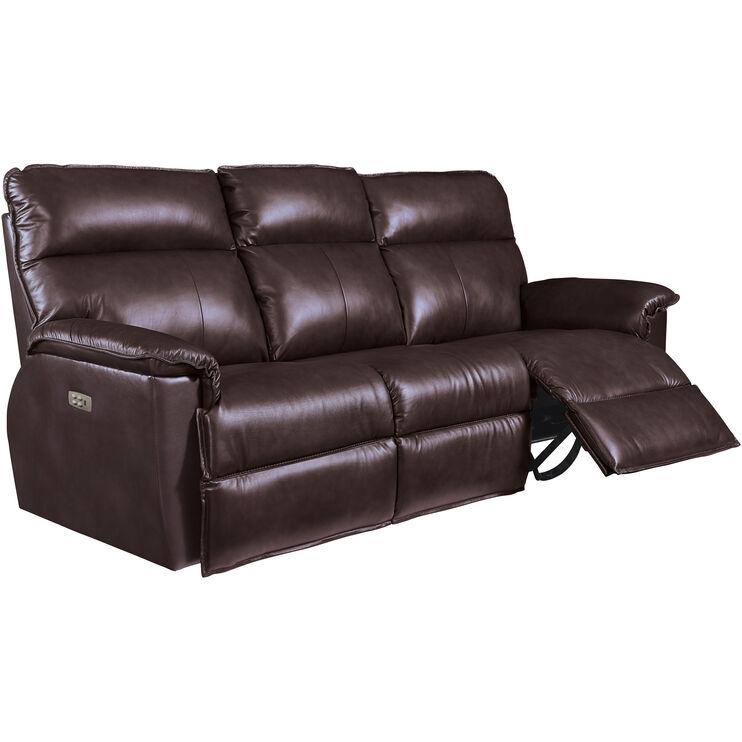 Jay Chocolate Power+ Recl Sofa