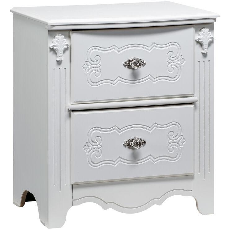 Exquisite White NIghtstand