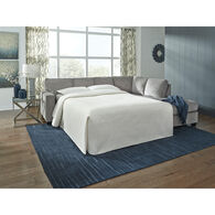 Riles Right Chaise Sleeper Sectional