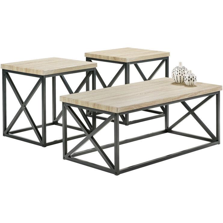 Luddington Orion Ash Set of 3 Tables