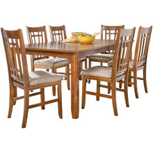 Santa Rosa 5Pc Oak Dining Set
