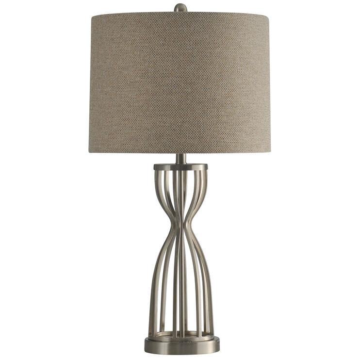 Manheim Brushed Steel Table Lamp
