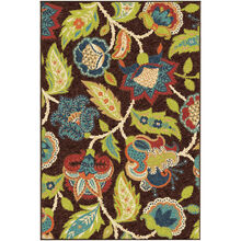 Veranda Ethridge Brown 8 x 11 Rug