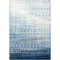 Encore Contemporary Blue 5x7 Rug