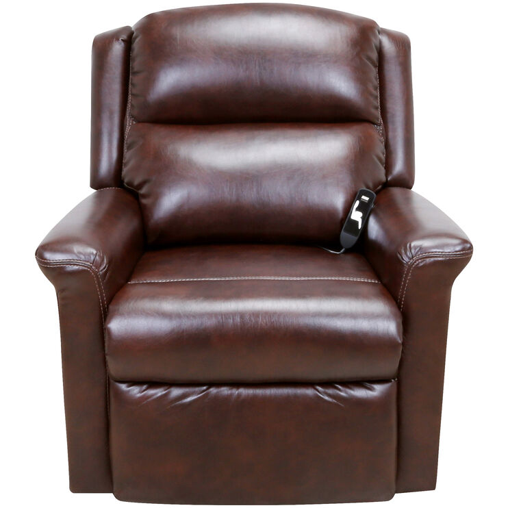 Coral Chocolate Lift Chair Recliner