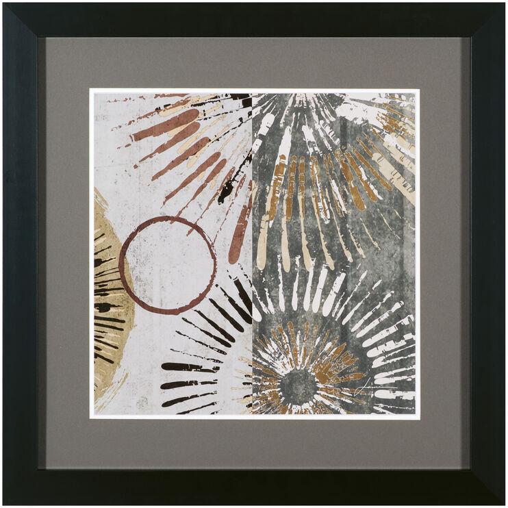 Outburst Tiles II Framed Art