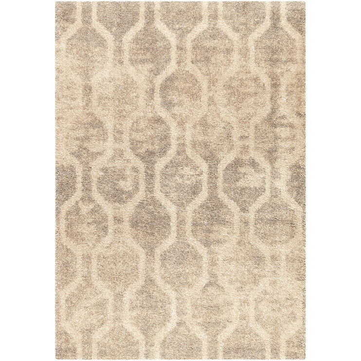 Majestic Fence Line Cream 8 x 11 Rug