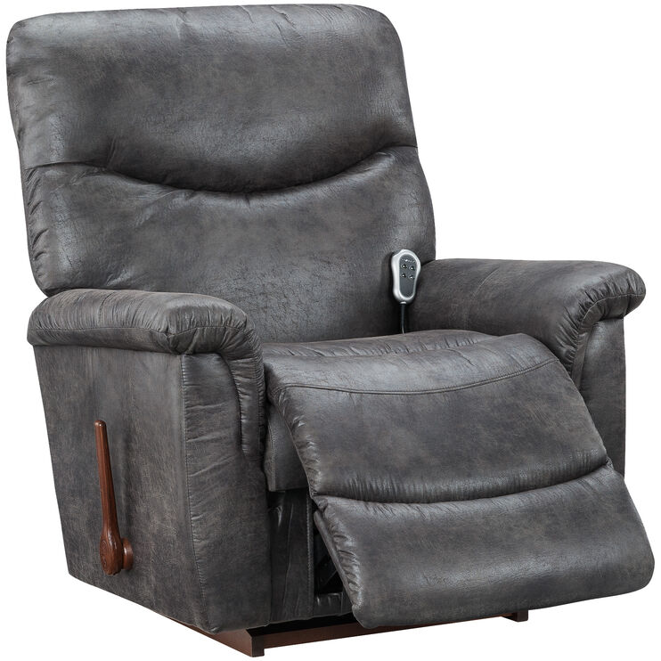 Prime James Steel Heat Massage Recliner Slumberland Furniture Bralicious Painted Fabric Chair Ideas Braliciousco