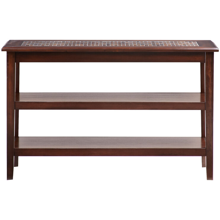 Mosaic Baroqu Brown Sofa Table