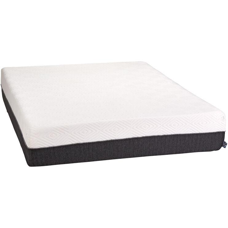 Slumbercrest 12 Inch Memory Foam King Mattress in a Box ...