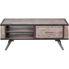 American Retro Gray Wash Coffee Table