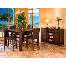Kona Parson 5 Piece Raisin Counter Dining Set