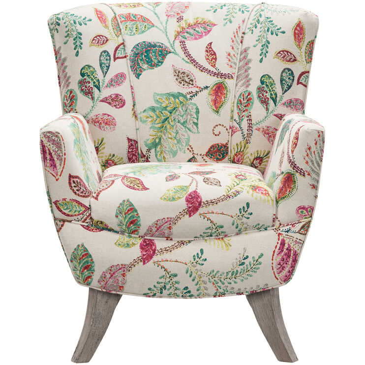 Bethany Floral Accent Chair