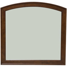 Avalon Brown Arched Mirror