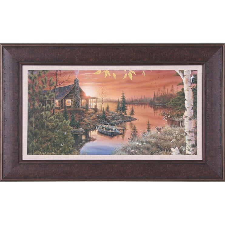 Autumn Evening Framed Art