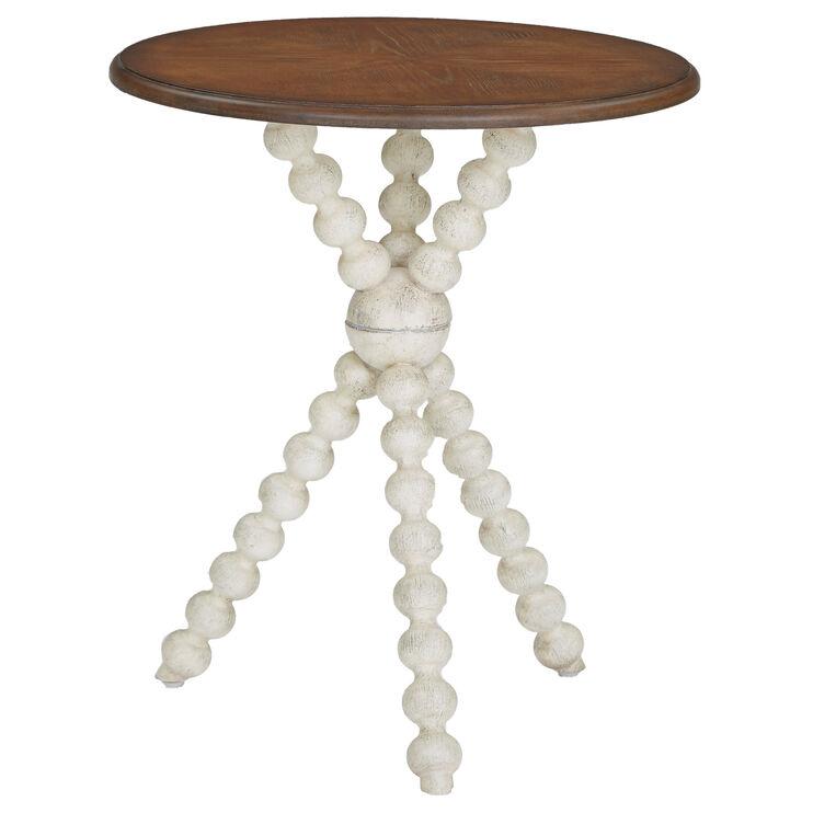Lexi Cream Accent Table