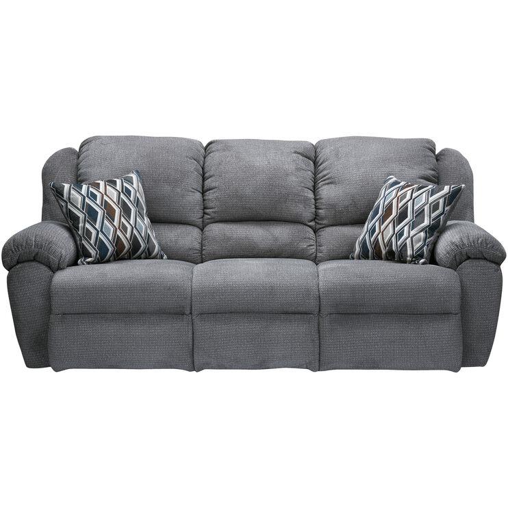 slumberland furniture burnaby gray reclining sofa