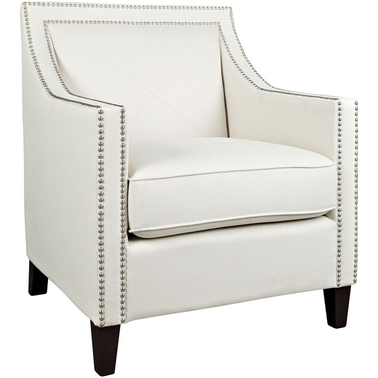 Princeton Ivory Accent Chair