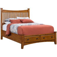 Lodge Park Queen Storage Bed