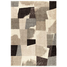 Wild Weave Rampart Slate Abstract Blocks 5 x 8 Rug
