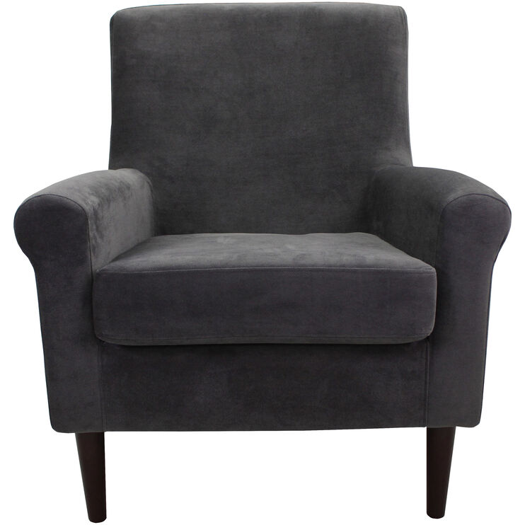 Ellis Dark Gray Accent Chair