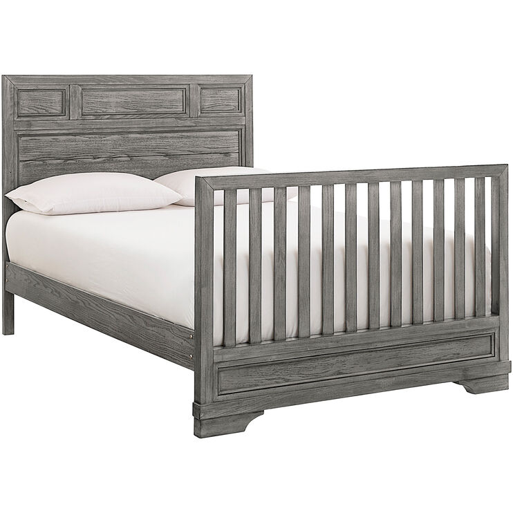 Foundry Brushed Pewter Full Bed Conversion Kit