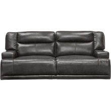 Tompkins Gray Power Reclining Sofa