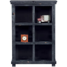 Willow 48in Black Bookcase