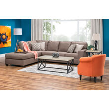 Wales 2 Piece Cashmere Left Chaise Sectional