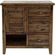 Artisans Craft Brown Accent Cabinet