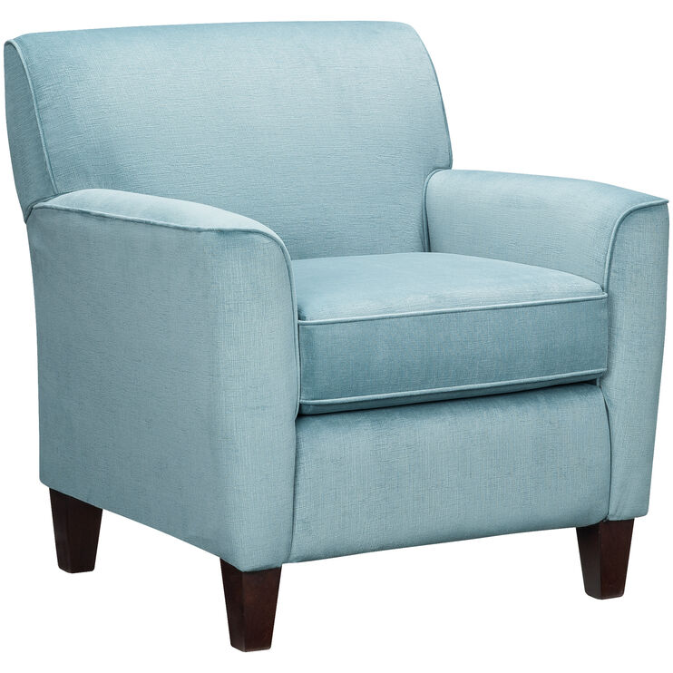 Risa Aqua Accent Chair