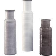 Set of 3 Deus Vases
