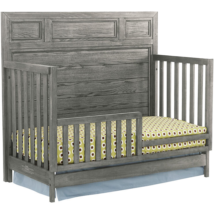 Foundry Brushed Pewter Toddler Bed Conversion Kit