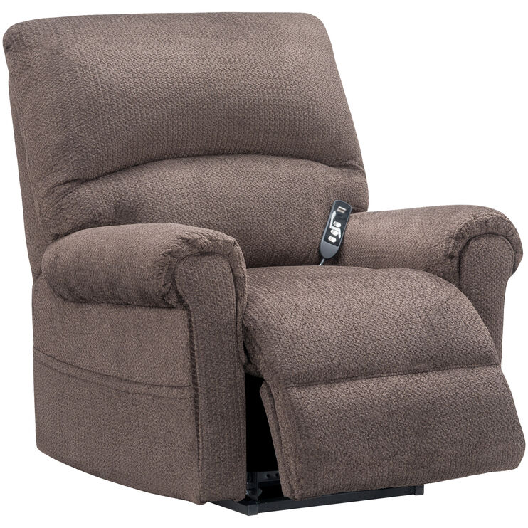 Topaz Chocolate Lift Recliner