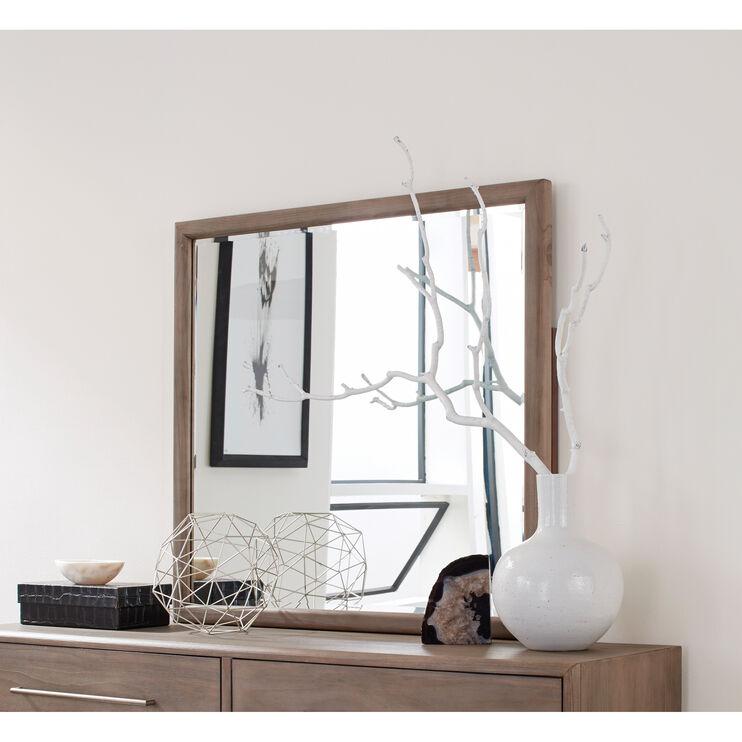 Juno Antique Mocha Mirror