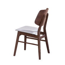 Oscar Walnut Wood Back Chair