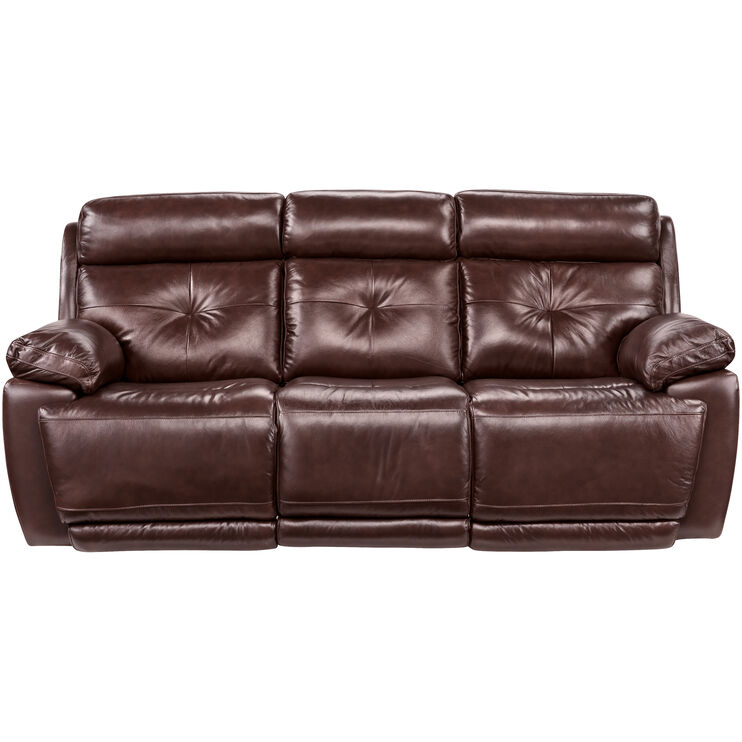Rhodes Brown Power+ Reclining Sofa