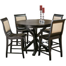 Willow Black Counter Dining Set