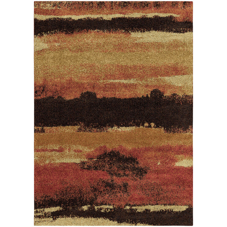 Wild Weave Canyon Rouge 8 x 11 Rug